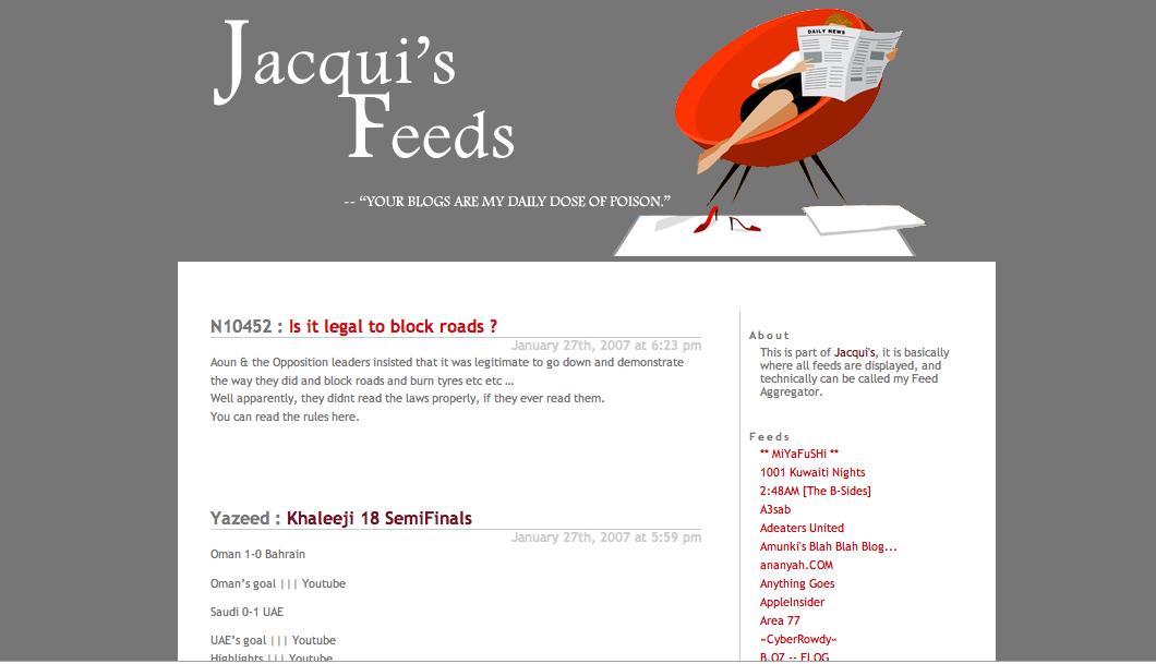 Jacqui's Feeds