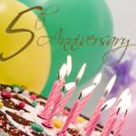Happy 5th Blog-o-versary