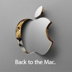 Save the Date: October 20th's Back to the Mac