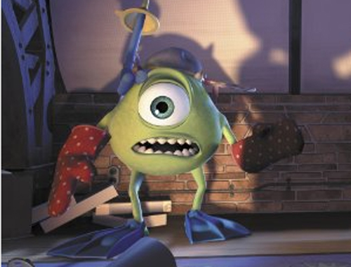 Monsters Inc Mike 1317923742