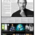 The Newspapers Mourn Steve Jobs