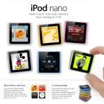 [New Products] The New iPod nano & iPod touch