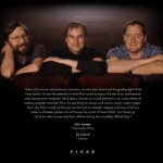 Pixar Mourns the Passing of the Great Steve Jobs