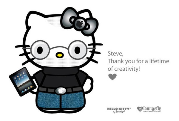 Hello kitty steve jobs