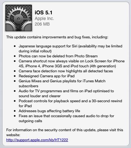 Ios 5 1 ipad