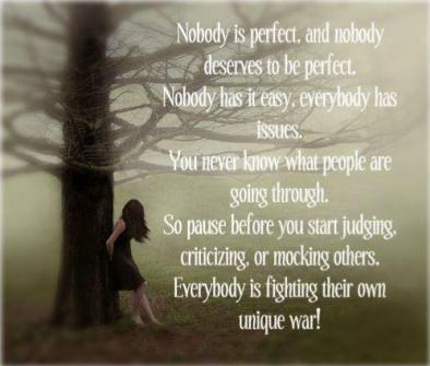 Nobody s perfect but i m perfect for me jacqui - Nobody is perfect mobel ...