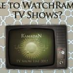 [Ramadan TV] Where to Watch?