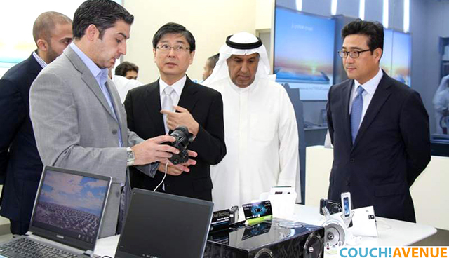 The Korean Samsung Management with Al Hamra CEO Mr. Al Othman