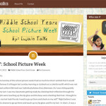 Lujain is Back and Blogging About Middle School