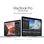 Apple Updates Retina MacBook Pros & Unveils Mac Pro